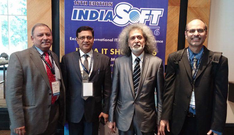 IndiaSoft 2016   Sridhar Rangaswamy   Dr. Just Kidding   Comedy & Motivation